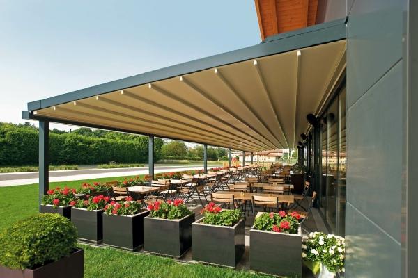Spledide tettoie e pergolati per il tuo arredo giardino - Coperture per tettoie esterne ...